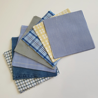Patchwork Squares, Fabric Bundle