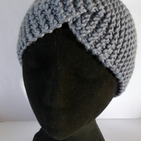 Hand Knitted Twisted Headband