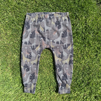 Giraffe Cotton Stretchy leggings - 0-3 months up to 6 years