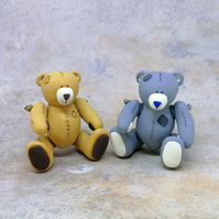 LC - Patched Petit Beau Bears - Collectable - Gift