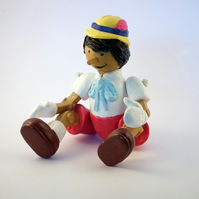 Collectable Pinocchio plaster figurine