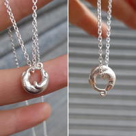 Otter Charm Necklace small.