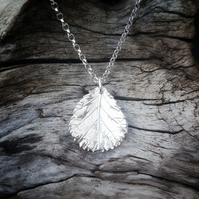 Alder Leaf Necklace large