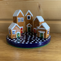 Ceramic Gingerbread Houses