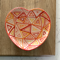 Ceramic Heart Bowl