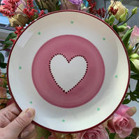 Heart Coupe Plate