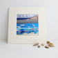 Crashing waves at broad haven beach, print of the original artwork