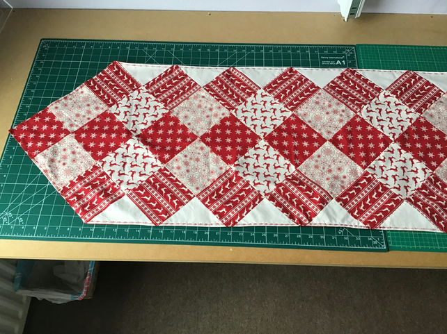 Christmas Scandi Style Table Runner