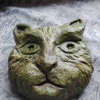 Cat Face carving