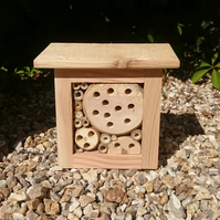 The 'Wee Bee Box' bug house, bee shelter, insect hotel, mini beast mansion bb10