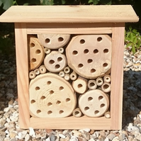 '221bee Baker Street' bug house, bee shelter, insect hotel, mini mansion bb20