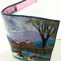 Needle-Felting Book Cover Kit (Sheep)