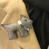 Sailor Dog Brooch