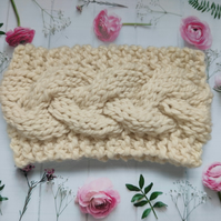 Alpaca and Wool Headband