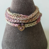 Wraparound Boho Friendship Bracelet