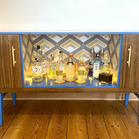 NOW SOLD Retro Beautility Cocktail Cabinet