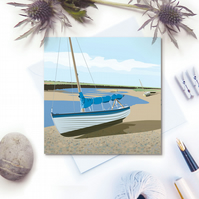 The Estuary Card - sailing, sail boat, Fathers Day