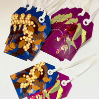 SALE - 20 x Autumn Floral Gift Tags