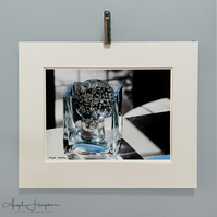 Monochrome Photograph - Bubbling Out of the Box