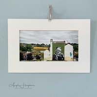 Fine Art Colour Photograph - Sheffield with Harry Brearley