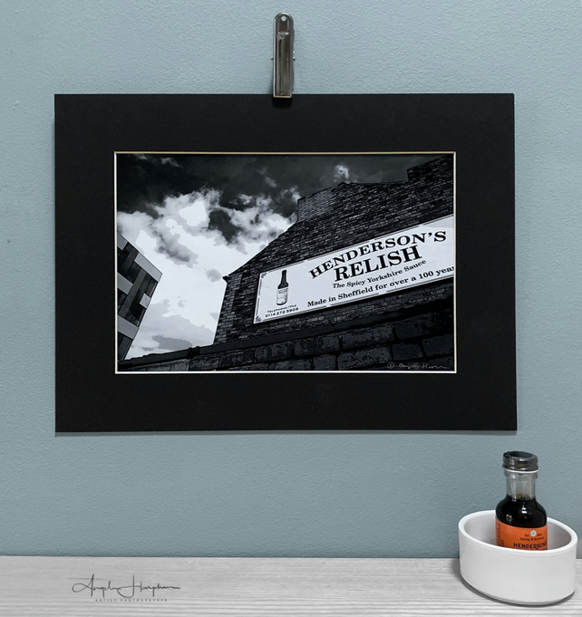 Monochrome Fine Art Photograph Black Mount - Jessop & Henderson's