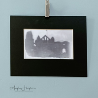 Photo Gothic Whitby Abbey Aged Effect Fine Art