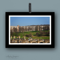 Large Colour Photo Parkhill Flats - Midland Station Sheffield