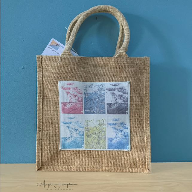 Jute Bag with Original Design