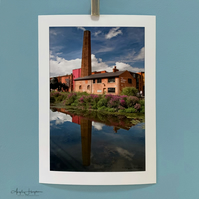 Colour Photograph - The Chimney House Kelham Island Museum