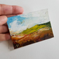 SOUTH DOWNS- Original oil miniature painting- ACEO art- ATC collectable