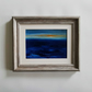 SEASCAPE 67, Abstract oil painting landscape, original abstract seascape,