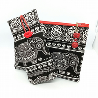 Red elephant gift set for her 245E