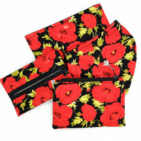 Poppy shaped Face mask set Sale