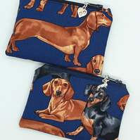 Dachshund coin purse 121E 123E