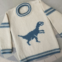 Velociraptor on a Sweater