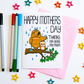 Happy Mother's Day Thanks For Being My Mum Mother's Day Card