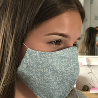 Handmade 100% Cotton Face Masks.Washable,Breathable and Reusable.Made in the U.K