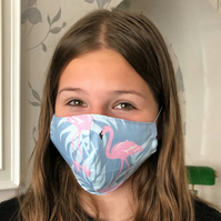 Handmade 100%Cotton Face Mask.Washable ,Breathable and Reusable.Made in the U.K