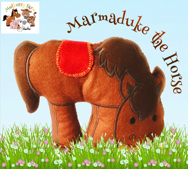 Marmaduke the Horse from Mulberry Farm