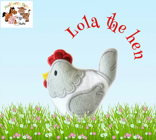 Lola the Hen  from Mulberry Farm