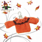 Pumpkin Orange Jumper to fit the Little Hugs Dolls