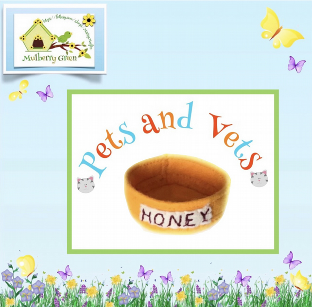 Food Bowl for Honey