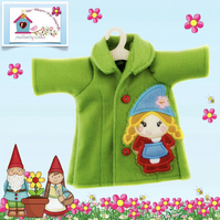 Little Gnome Embroidered Coat