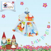 Gnomes in Flowerpots Dress to fit the Little Hugs dolls and Baby Daisy