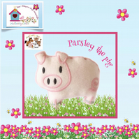 Parsley the Pig from Mulberry Farm