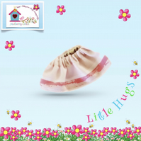 Pale Pink Skirt to fit the Little Hugs dolls