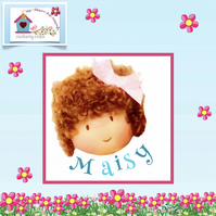 Maisy Maydew (Maisy Muffin) - a handcrafted doll