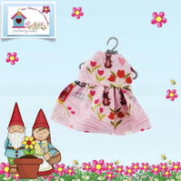 Mice in the Tulips Dress to fit the Little Hugs dolls and Baby Daisy