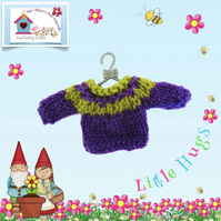 Purple and Green Jumper to fit the Little Hug Dolls