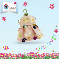 Baby Birds Dress to fit the Little Hugs dolls and Baby Daisy